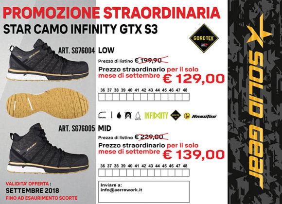 Promozione Scarpa Star Camo Infinity GTX S3
